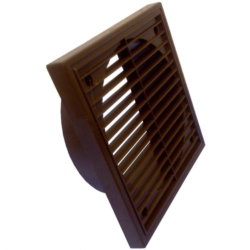 "MANRO3 - ROUND DUCT & ACC'S 1172 BROWN 5""FIXED GRILLE BROWN"